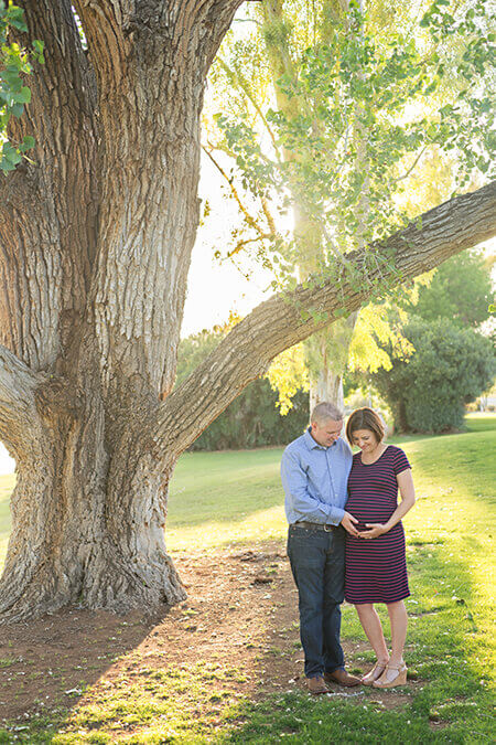 Couple Maternity Photographer Scottsdale AZ | Jenna Michelle Photography